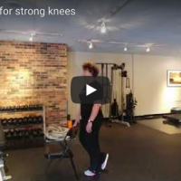 Six exercises for strong knees
