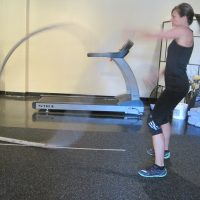 Cardio Exercise with ropes